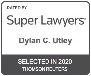 Dylan's Super Lawyers badge