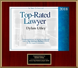 Dylan Utley Top-Rated Lawyer 2018